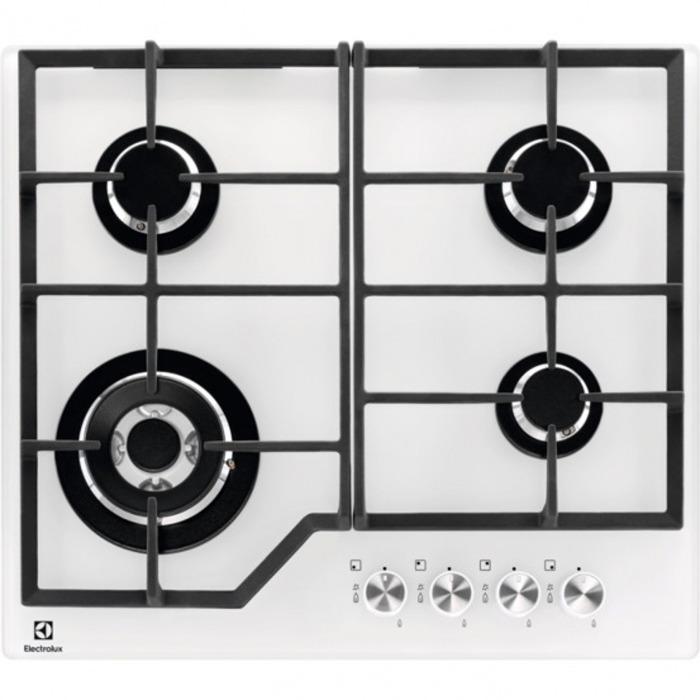 Встраиваемая газовая варочная панель Electrolux GPE363YV, 2000042936, white Electrolux