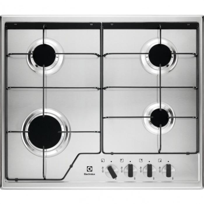 Варочная панель Electrolux GPE262MX, газовая Electrolux