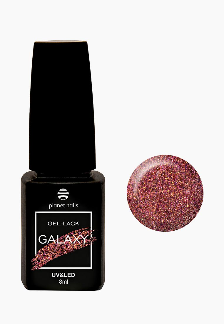 Гель-лак Planet Nails GALAXY, тон 730, 8мл. 12730
