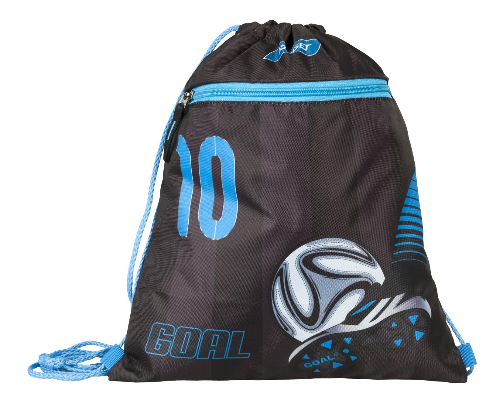 Фото - Сумка Target для детской сменной обуви Футбол, цвет:черный,синий сумка target для детской сменной обуви sparkling цвет синий