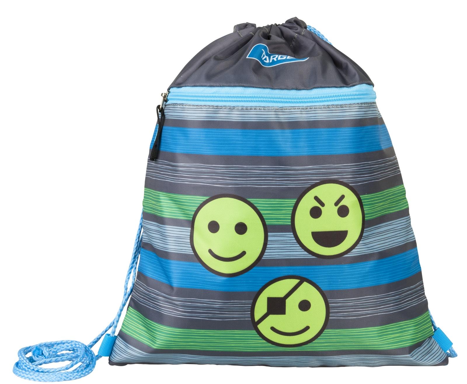 Фото - Сумка Target для детской сменной обуви Смайлики сумка target для детской сменной обуви sparkling цвет синий