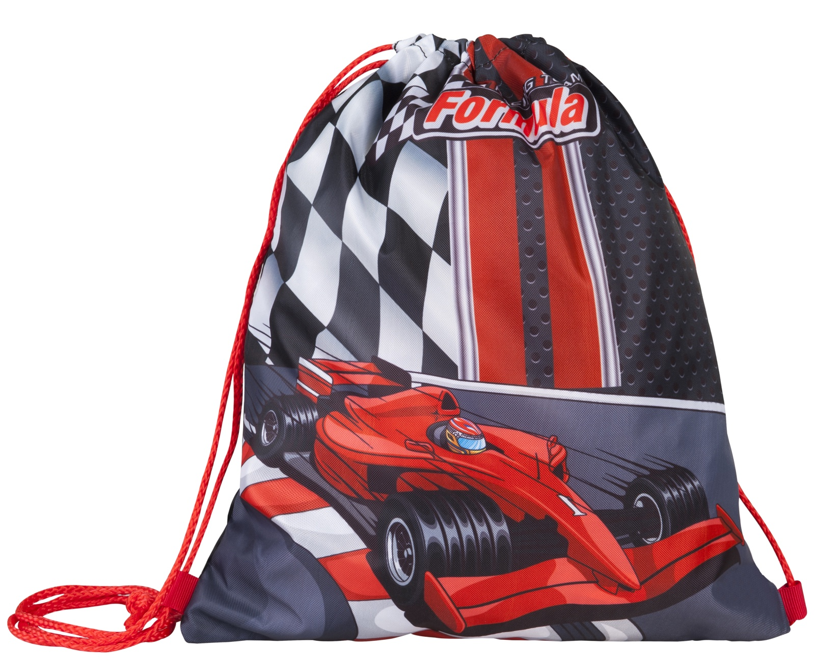Фото - Сумка Target для детской сменной обуви Формула 1 сумка target для детской сменной обуви sparkling цвет синий