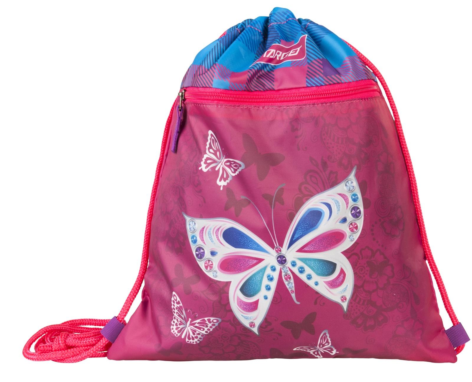 Фото - Сумка Target для детской сменной обуви Бабочка, цвет: розовый сумка target для детской сменной обуви sparkling цвет синий