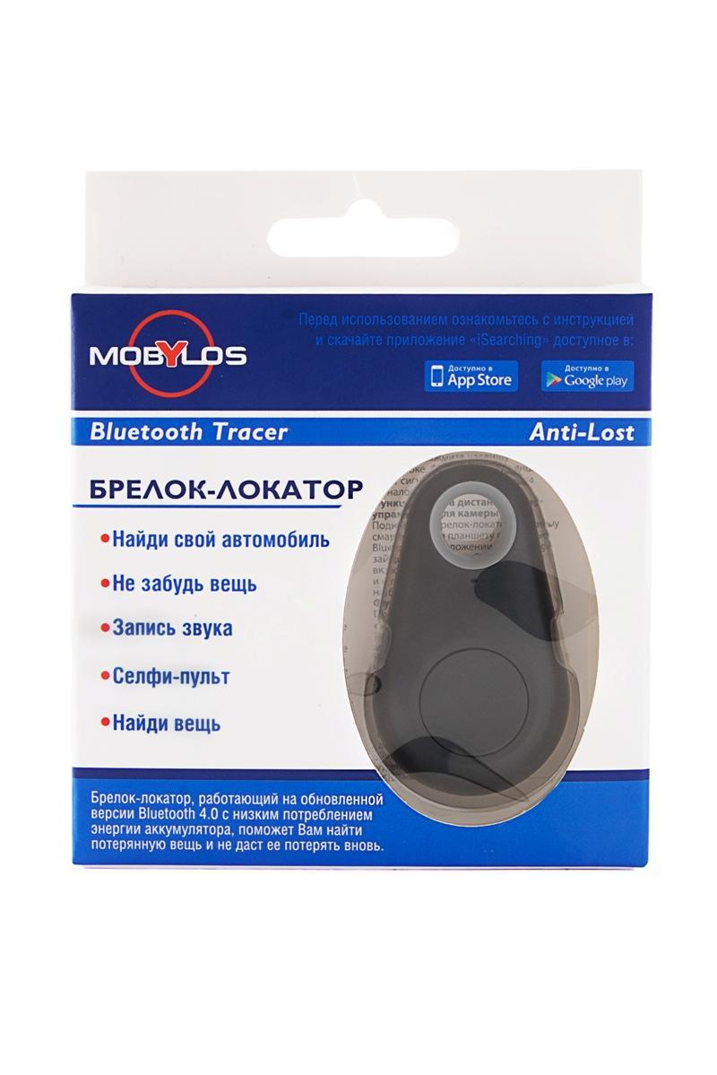 Bluetooth-трекер Mobylos 30355/ч, 30355/ч, черный брелок под фото