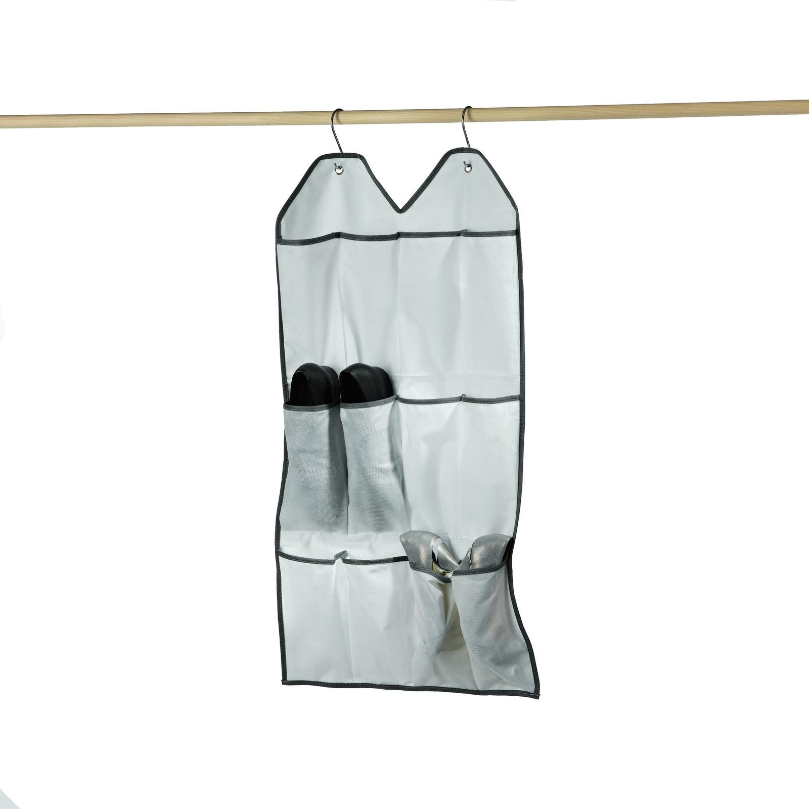 Подвесной органайзер Bella Casa, для хранения 6 пар обуви, цвет: белый. BC25010 сушильный стеллаж для обуви змк zmk komfor на 70 пар
