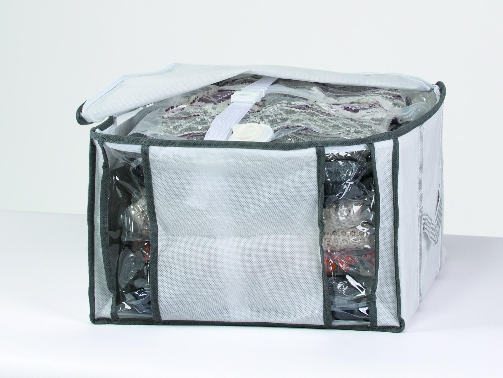 Набор для хранения вещей Bella Casa «Multi», цвет: белый, 40x42x25 см. AZ25511 mikado uwgt6006 29145 42 x 15 x 25 cm