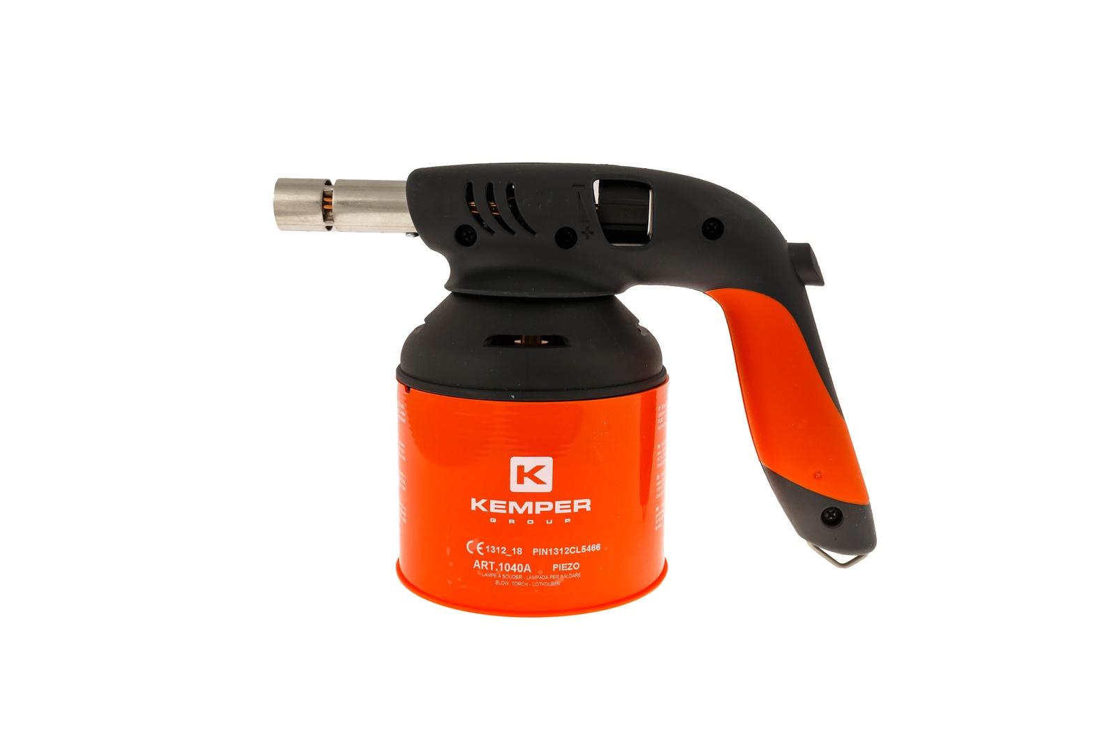 Паяльник газовый KEMPER Лампа паяльная газовая цена