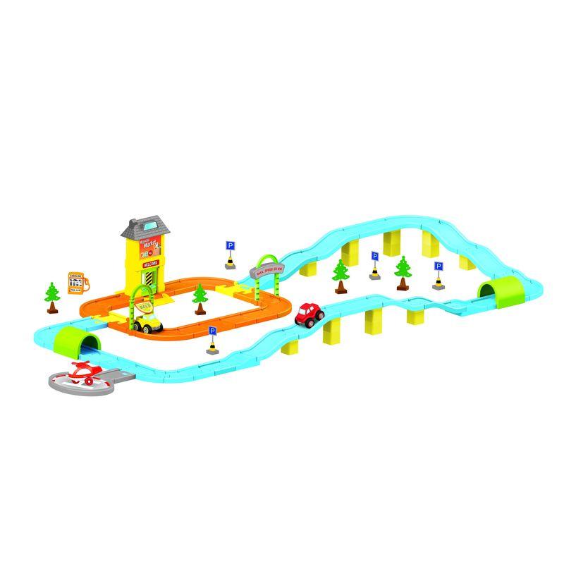 Игровой набор Dolu, дорога с машинками. DL_5155
