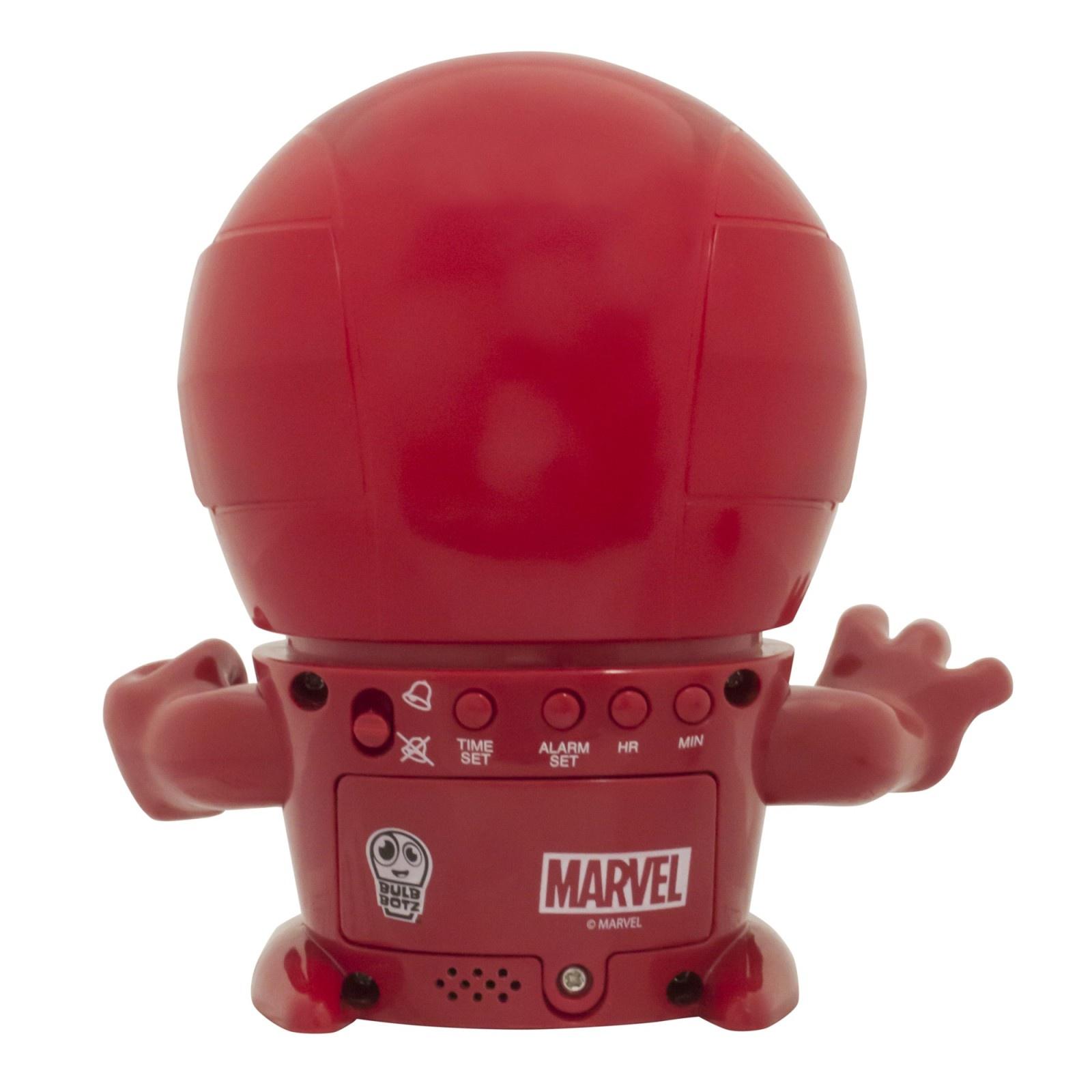 Электронный будильник Marvel электронный красный Marvel