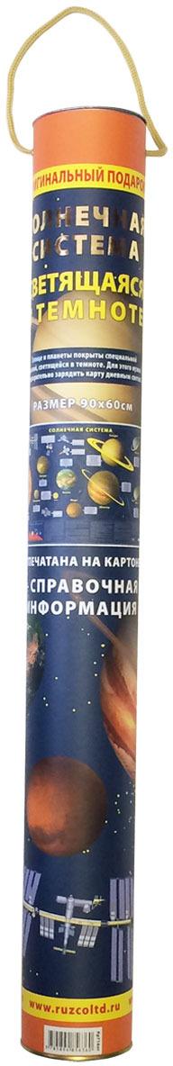 Карта Солнечной системы (тубус)