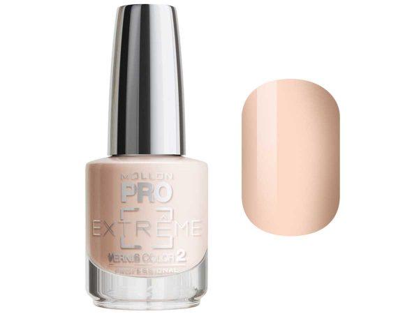 Цветное покрытие для ногтей MOLLON PRO EXTREME VERNIS COLOR 2, тон № 02, 10 мл