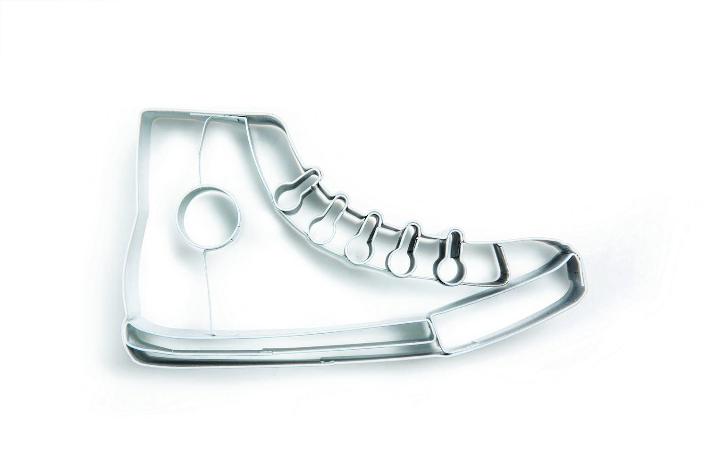 Формочка для печенья Donkey products Sneaker Cookie DO200586, цвет: серыйDO200586Материал: Нержавеющая сталь. Цвет: Серый. Размер: Высота 2,5, ширина 6,2, длина 11,2