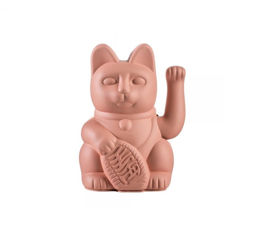 цена Фигурка Donkey products Lucky Cat, цвет: розовый, DO330434 онлайн в 2017 году