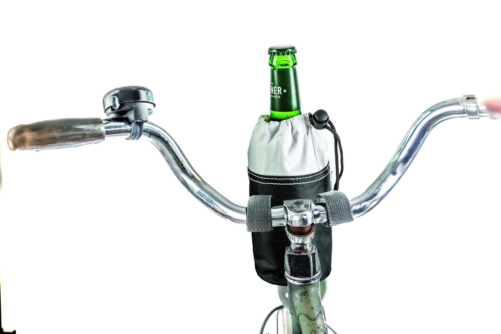 Велосумка Donkey products Bottle Bag, цвет: белый/черный, DO300752