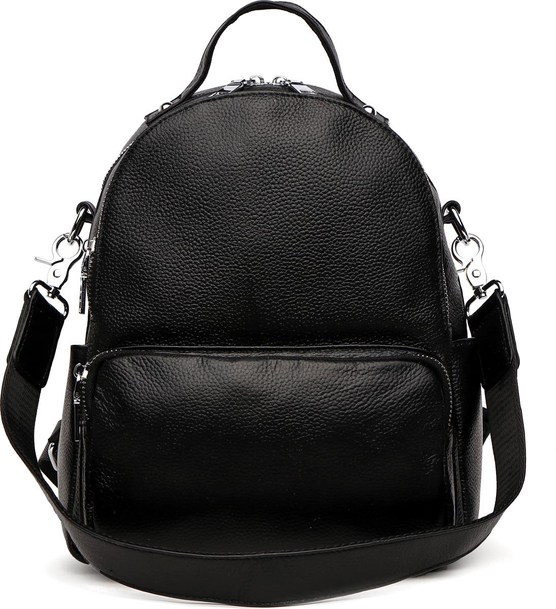 Рюкзак женский DDA, цвет: черный. DDA LB-3026BK рюкзак женский adidas backpack xs цвет черный dv0212