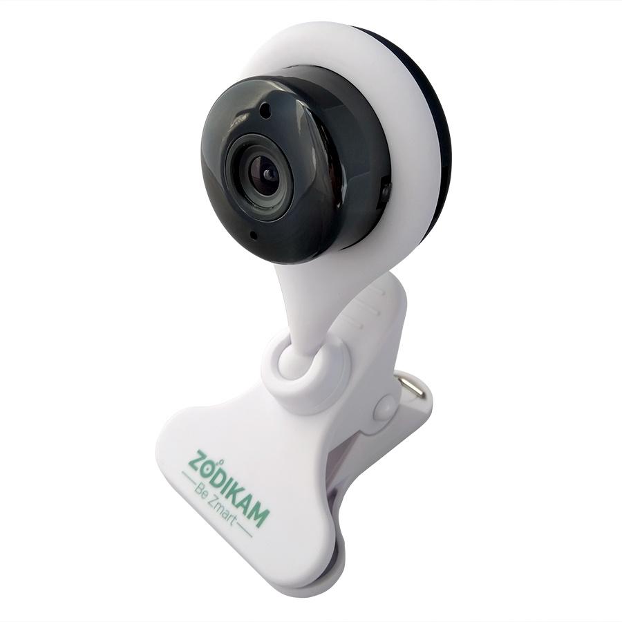 IP камера наблюдения Zodikam 7001 Baby мини 1280x720 1МП, 849, белый видеорегистратор zodikam dvr 10