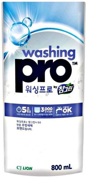 Средство для мытья посуды CJ Lion Washing Pro, 800 мл
