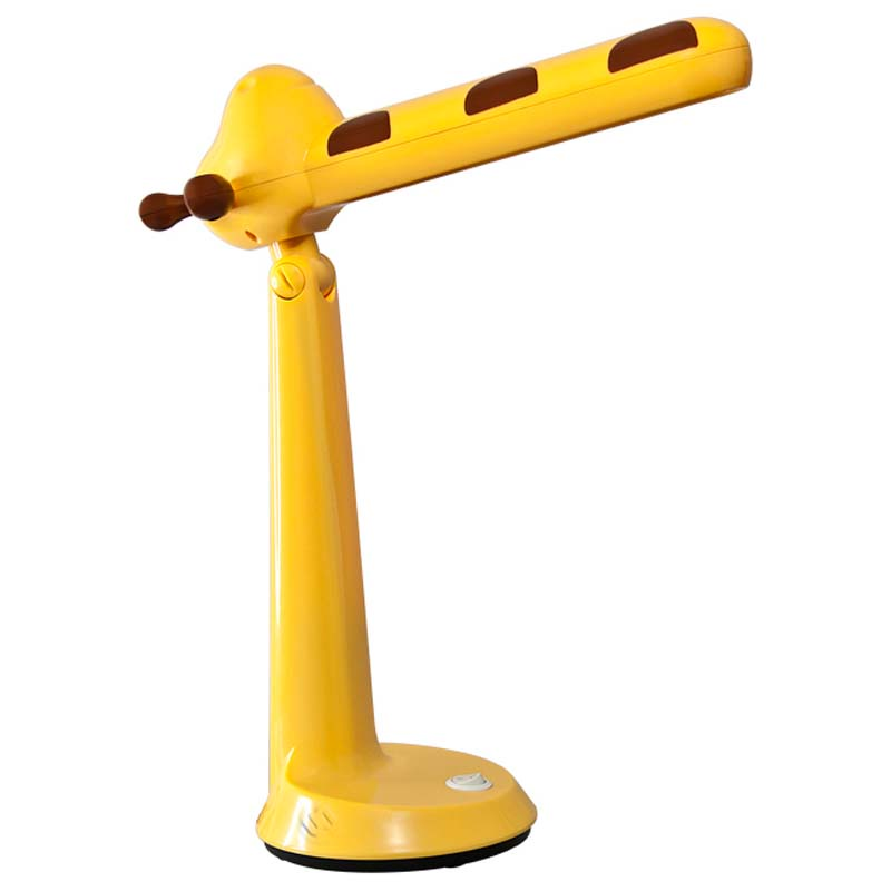 Настольный светильник Ultra LIGHT KT415D Жираф 11Вт 220В КЛЛ 2G7, желтый ultra light настольный светильник собака 18вт клл ultra light голубой