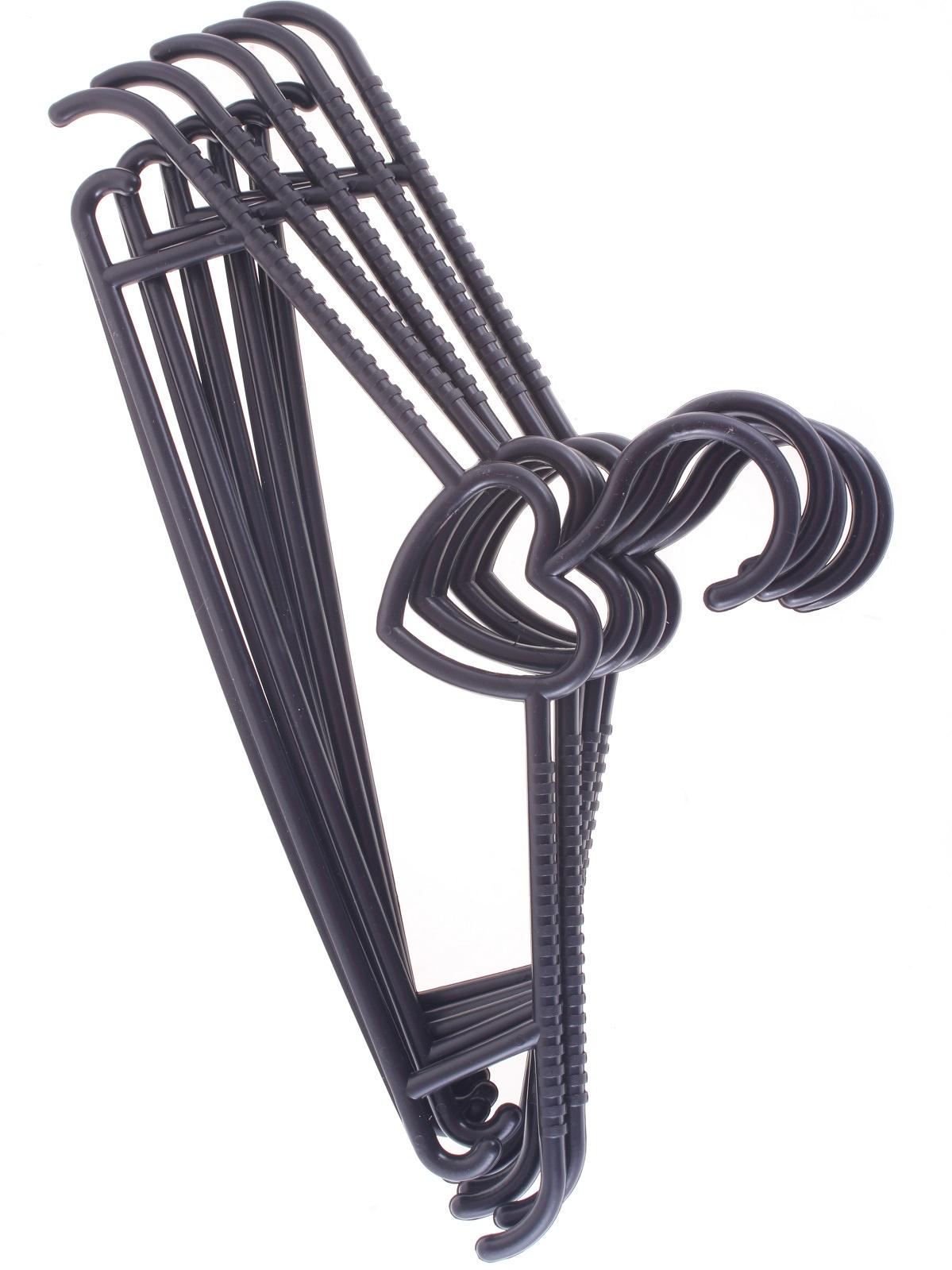 Вешалка Выручалочка Вешалка для одежды, длина 42,5 см., набор 5 штук, 7426845714989 вешалка с бантиком 6 штук mix home