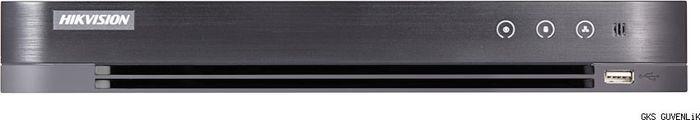Гибридный HD-TVI регистратор Hikvision DS-7208HQHI-K1, для аналоговых, HD-TVI, AHD и CVI камер камера наблюдения orient ahd 940 if1b 4 mic с микрофоном купольная 4 режима ahd tvi cvi 720p 1280x720 cvbs 960h 1 4 silicon optronics 1mpx cmos