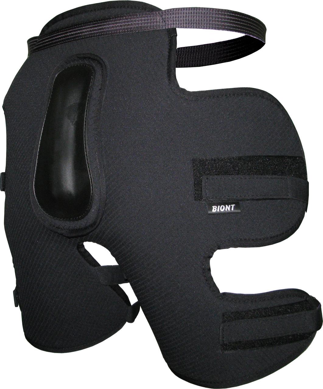 Сидушка Biont с защитой копчика, цвет: черный. Размер XXL (52/54)