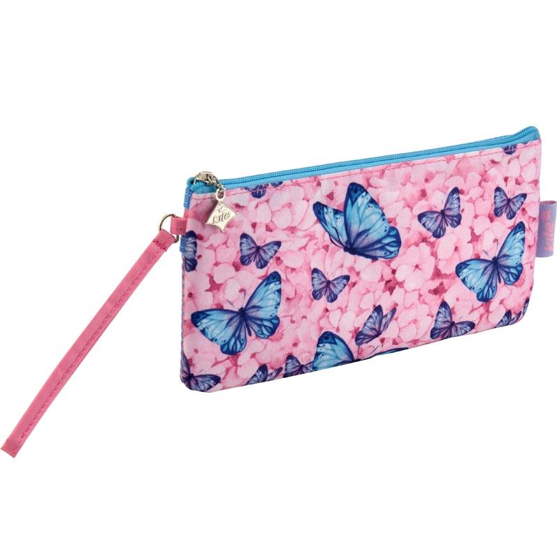 цена на Пенал Kite Junior-3, цвет:розовый