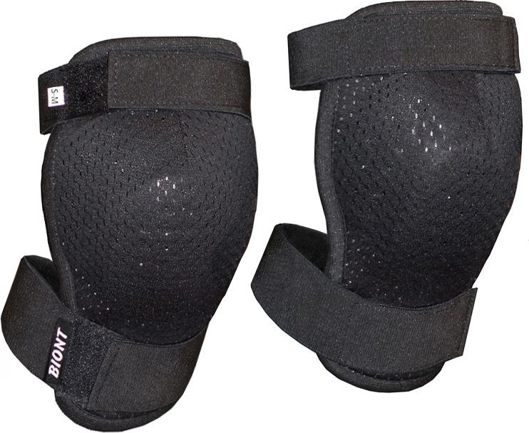 Защита колена Biont М2, цвет: черный. Размер XXS (40/42)
