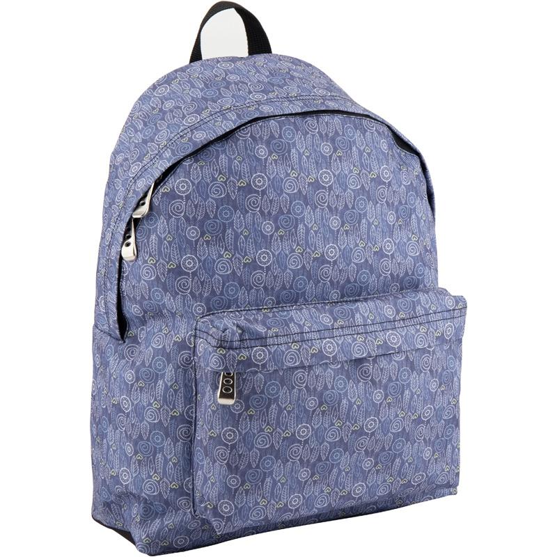 Рюкзак GoPack 112 GO-1 K18, цвет: синий gopack gopack рюкзак go 1 черный с желтым