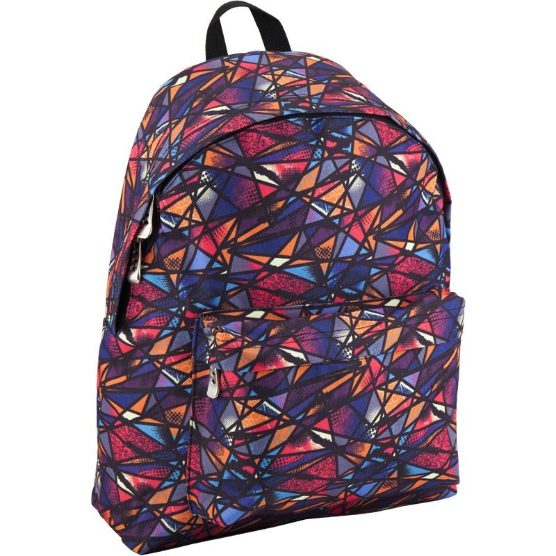 Рюкзак GoPack 112 GO-4 K18, цвет: синий, оранжевый gopack gopack ранец школьный under construction синий