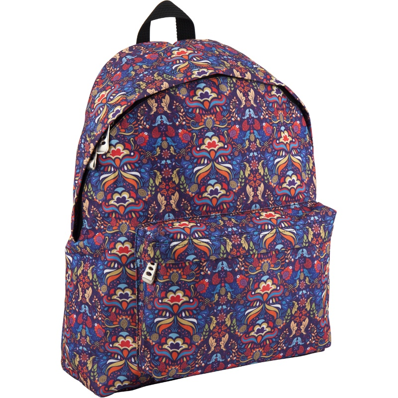 Рюкзак GoPack 112 GO-9 K18, цвет: синий, красный gopack gopack рюкзак go 1 черный с желтым
