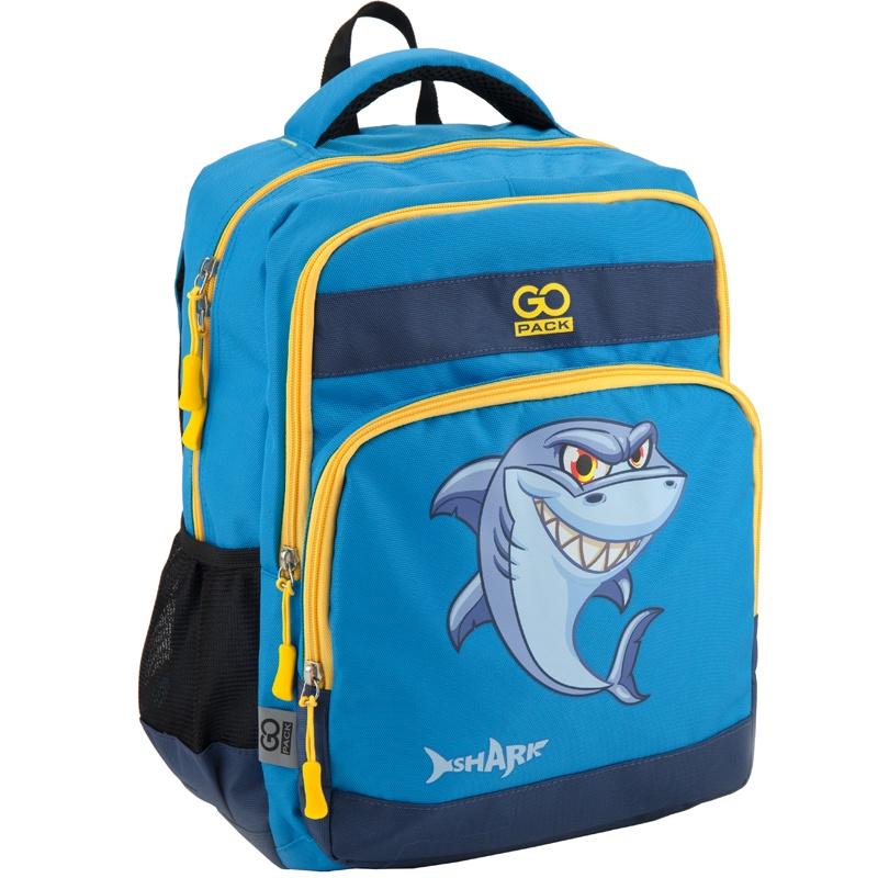 Рюкзак GoPack 113 GO-2, цвет: синий gopack gopack ранец школьный under construction синий