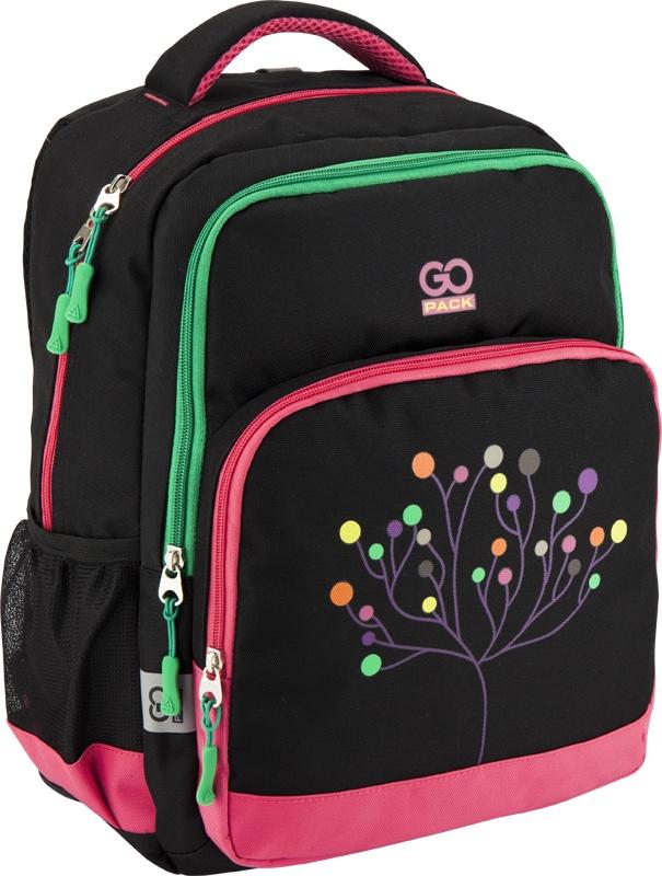 Рюкзак GoPack 113 GO-4, цвет: черный gopack gopack рюкзак go 1 черный с желтым