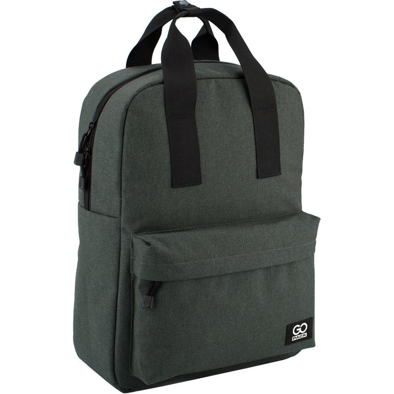 Рюкзак GoPack 116 GO-1, цвет: серый gopack gopack рюкзак go 1 черный с желтым