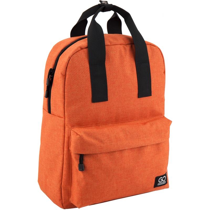 Рюкзак GoPack 116 GO-2, цвет: оранжевый gopack gopack рюкзак go 1 черный с желтым