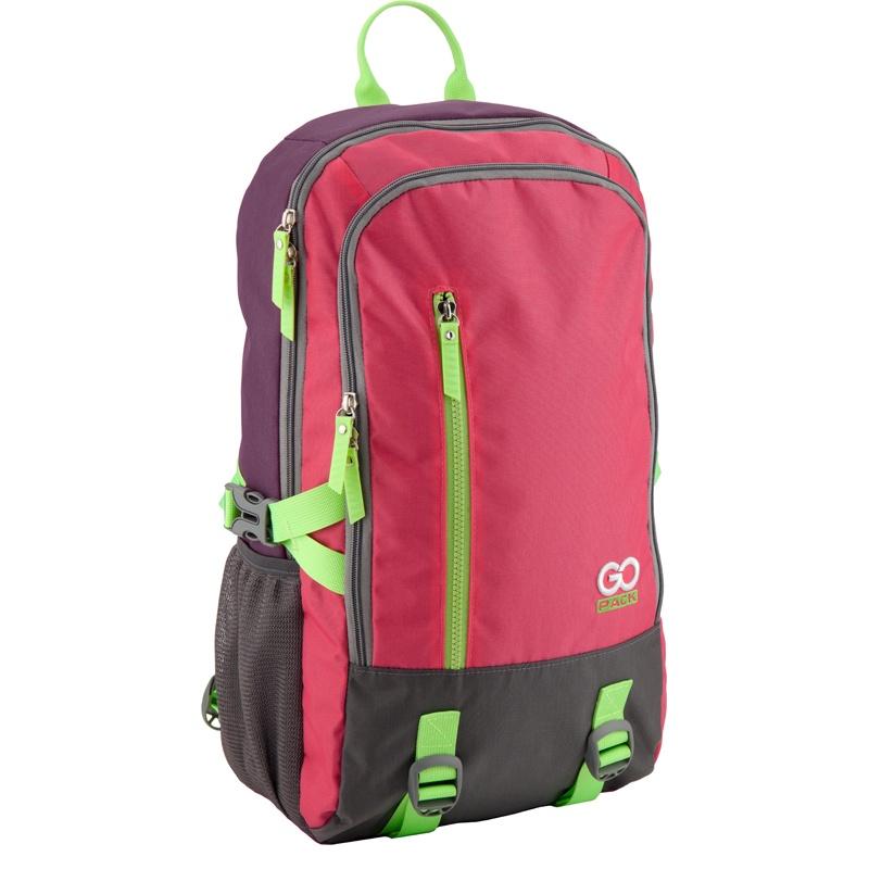 Рюкзак GoPack 130 GO-1, цвет: розовый gopack gopack рюкзак go 1 черный с желтым