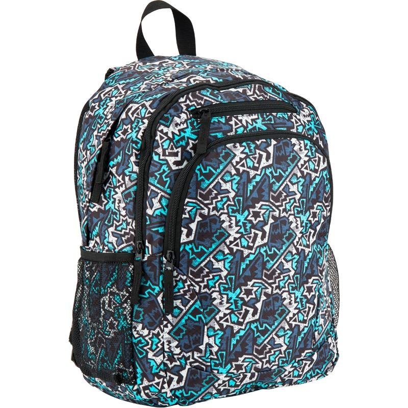Рюкзак GoPack 132 GO-2, цвет: синий, бирюзовый gopack gopack ранец школьный under construction синий