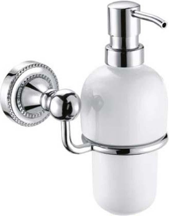 Диспенсер для мыла Fixsen Style, цвет: серебристый. FX-41112