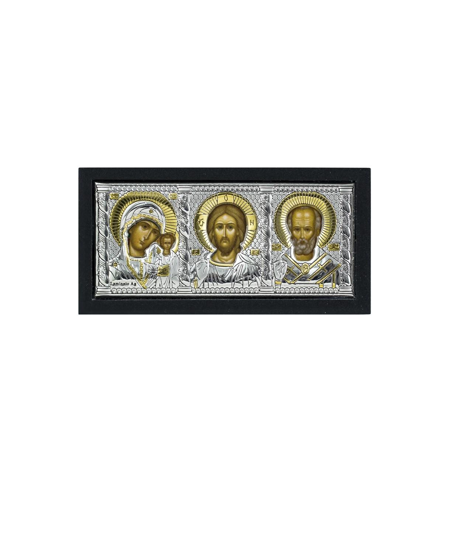 Тр икона Каз.Бож.Мат,Всед. и Св.Ник.Чуд икона иконы