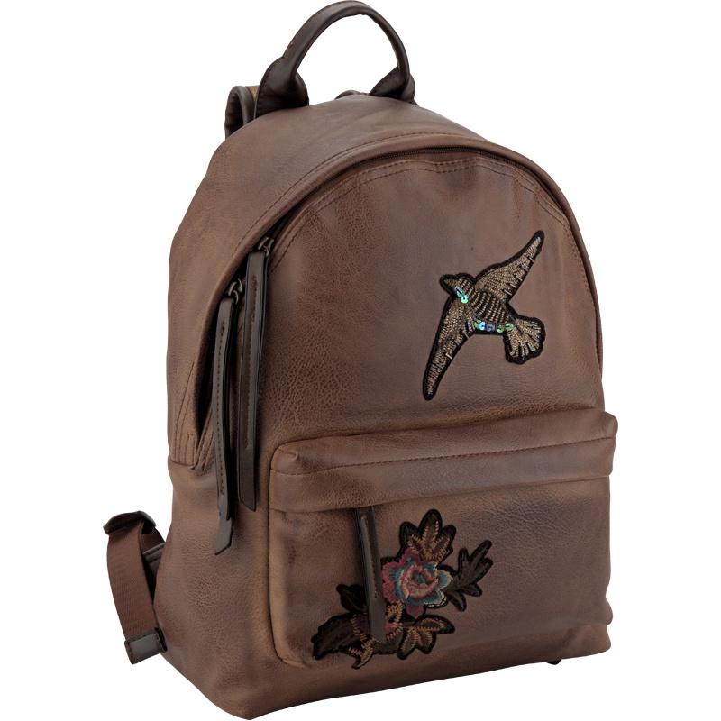 цена Рюкзак Kite Dolce K18-2529S-1, цвет: насыщенно-коричневый онлайн в 2017 году