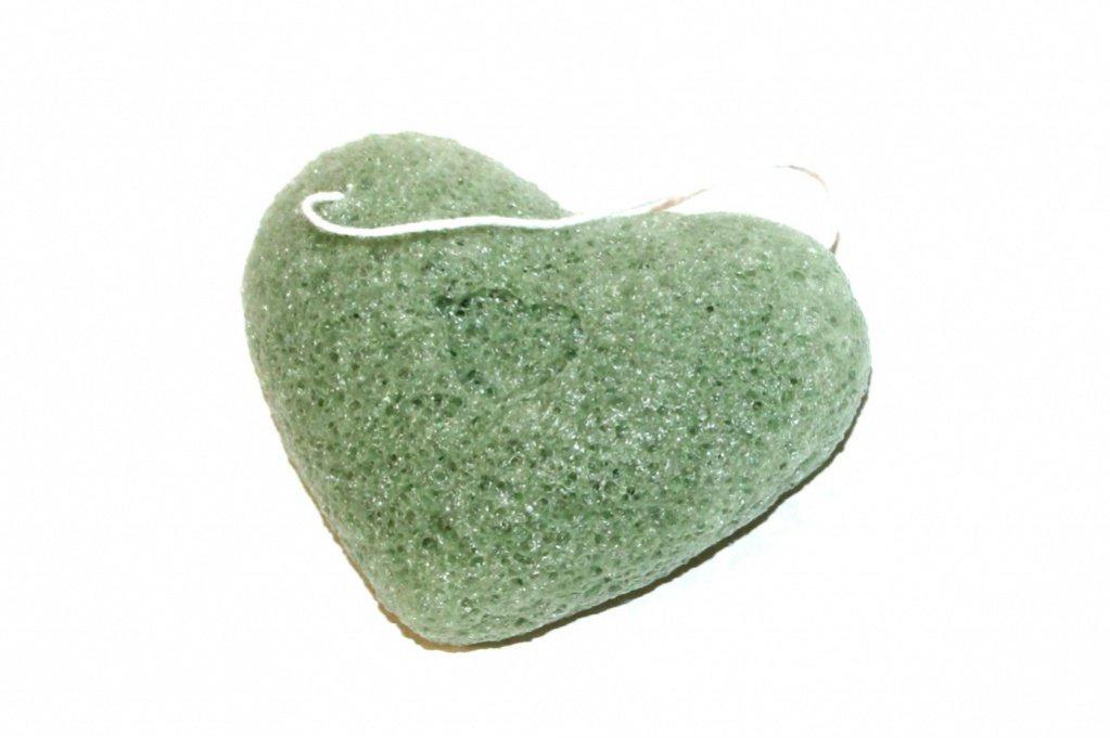 Губка-спонж «КОННЯКУ» с экстрактом зеленого чая