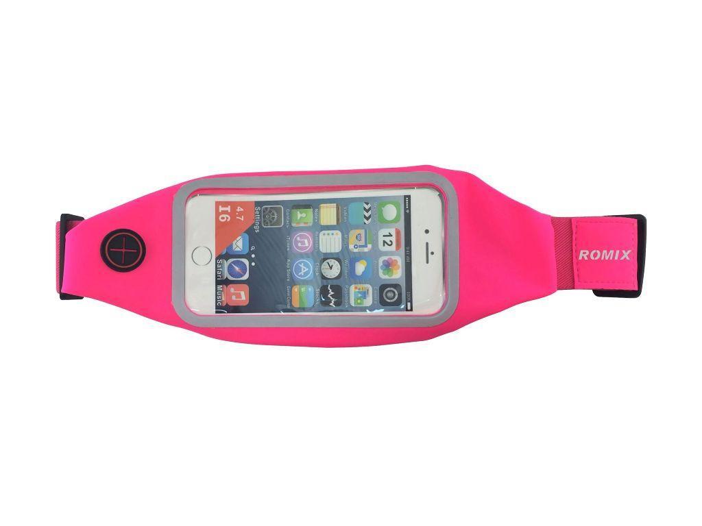 лучшая цена Пояс Romix, для смартфона, цвет:розовый