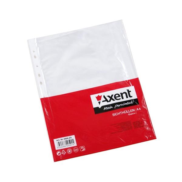 Файл Axent, глянцевый, формат А4, 100 шт. 178-2004-00-A