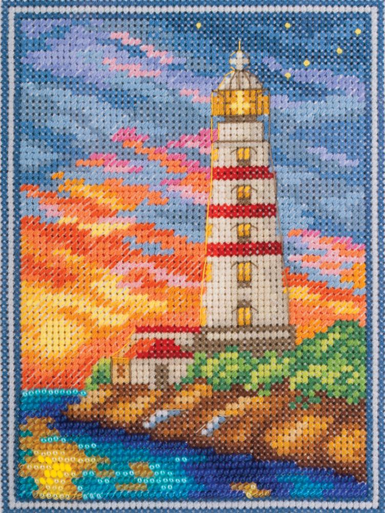 Фото - Набор для вышивания Panna Крымский маяк, 11 х 14,5 см одежда для йоги fiber gamma qj9245 2015