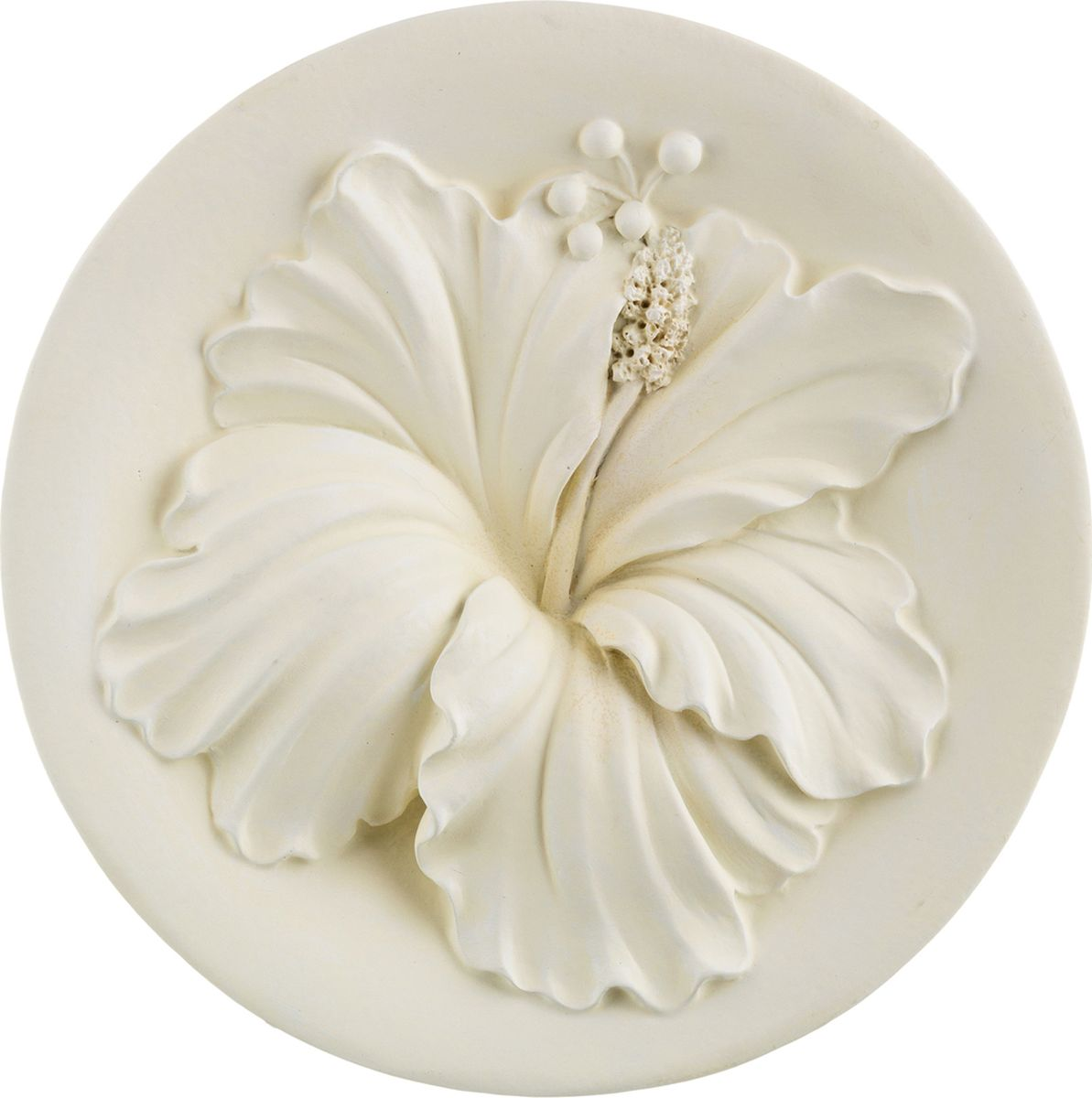 Панно Lefard, цвет: белый, 27 х 27 х 4,5 см. K20W022 ваза lefard подсолнух цвет коричневый 27 х 27 х 19 5 см