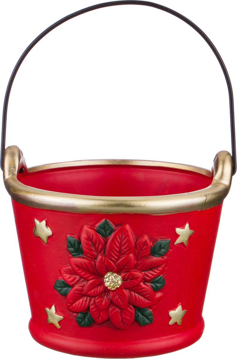 Ваза-кашпо Lefard, цвет: разноцветный, 14 х 14 х 11,8 см ваза керамическая 14 х 10 х 38 см