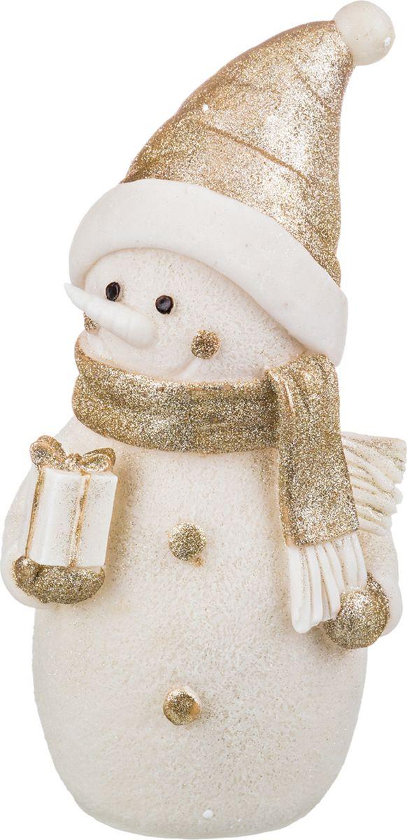 """Фигурка праздничная Lefard """"Снеговик"""", с подсветкой, высота 36 см. 174371"""