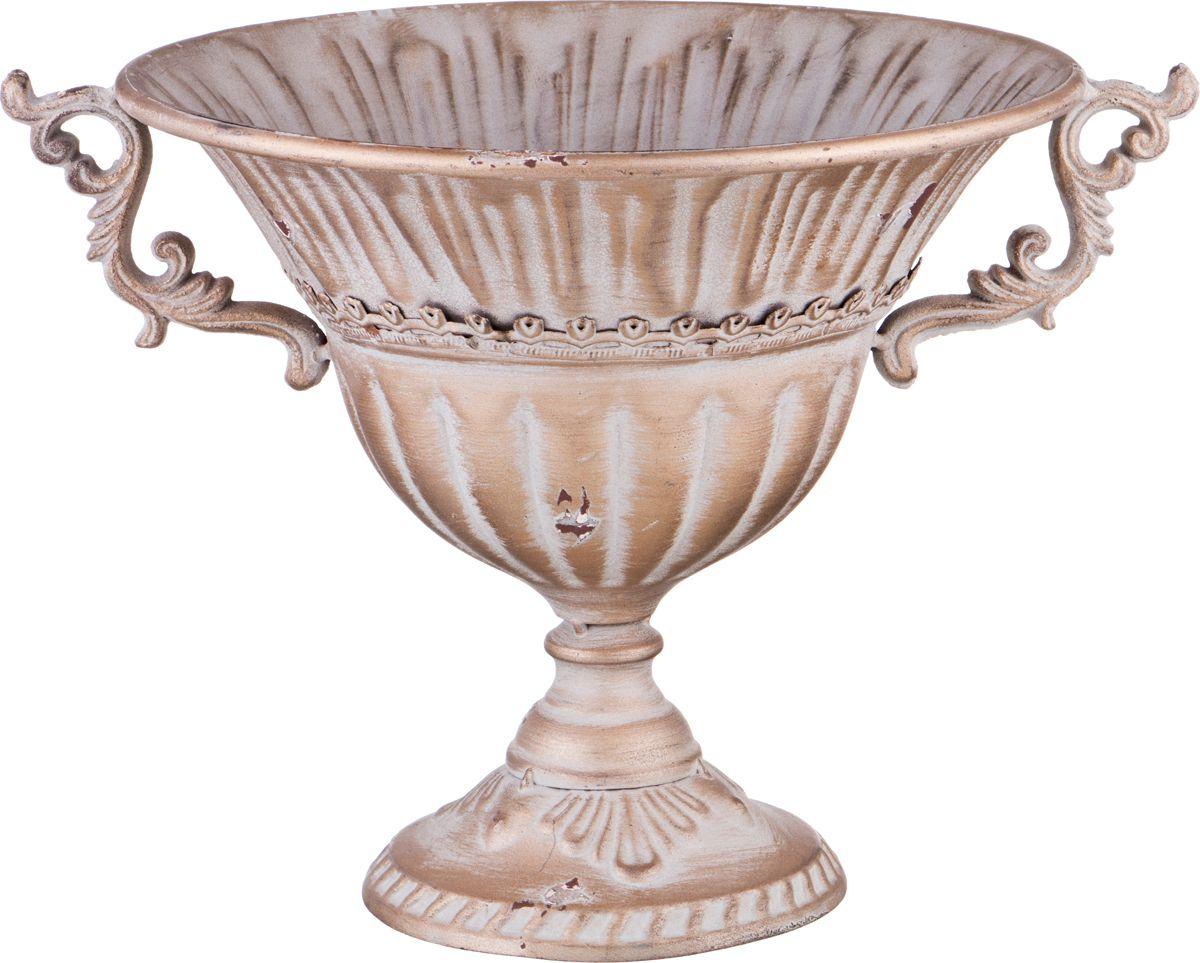 Ваза Lefard, цвет: светло-коричневый, 31 х 39 х 28 см ваза lefard подсолнух цвет коричневый 27 х 27 х 19 5 см