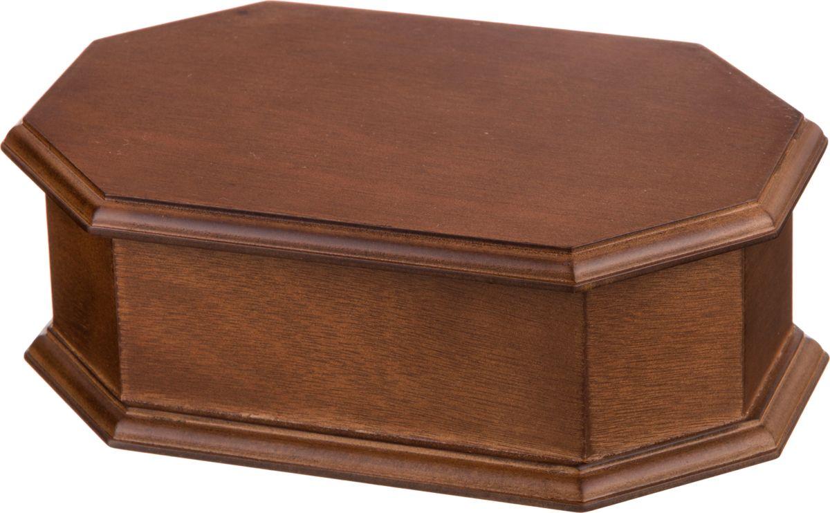 Фото - Шкатулка для украшений Lefard, с зеркалом, цвет: коричневый, 20 х 13 х 6,8 см. WY12138 шкатулка с фоторамкой lefard happy kid 222 711