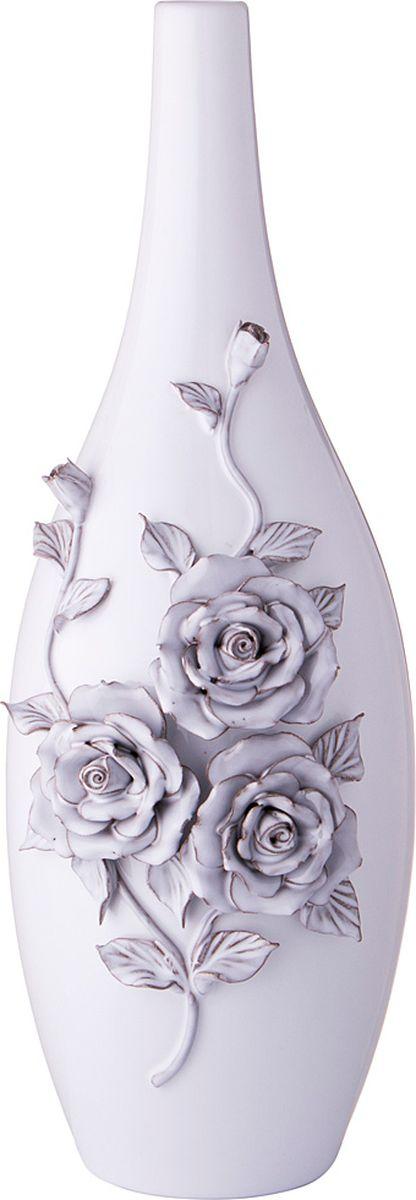 Ваза Lefard Грей роуз, цвет: розовый, 18,5 х 16 45,5 см