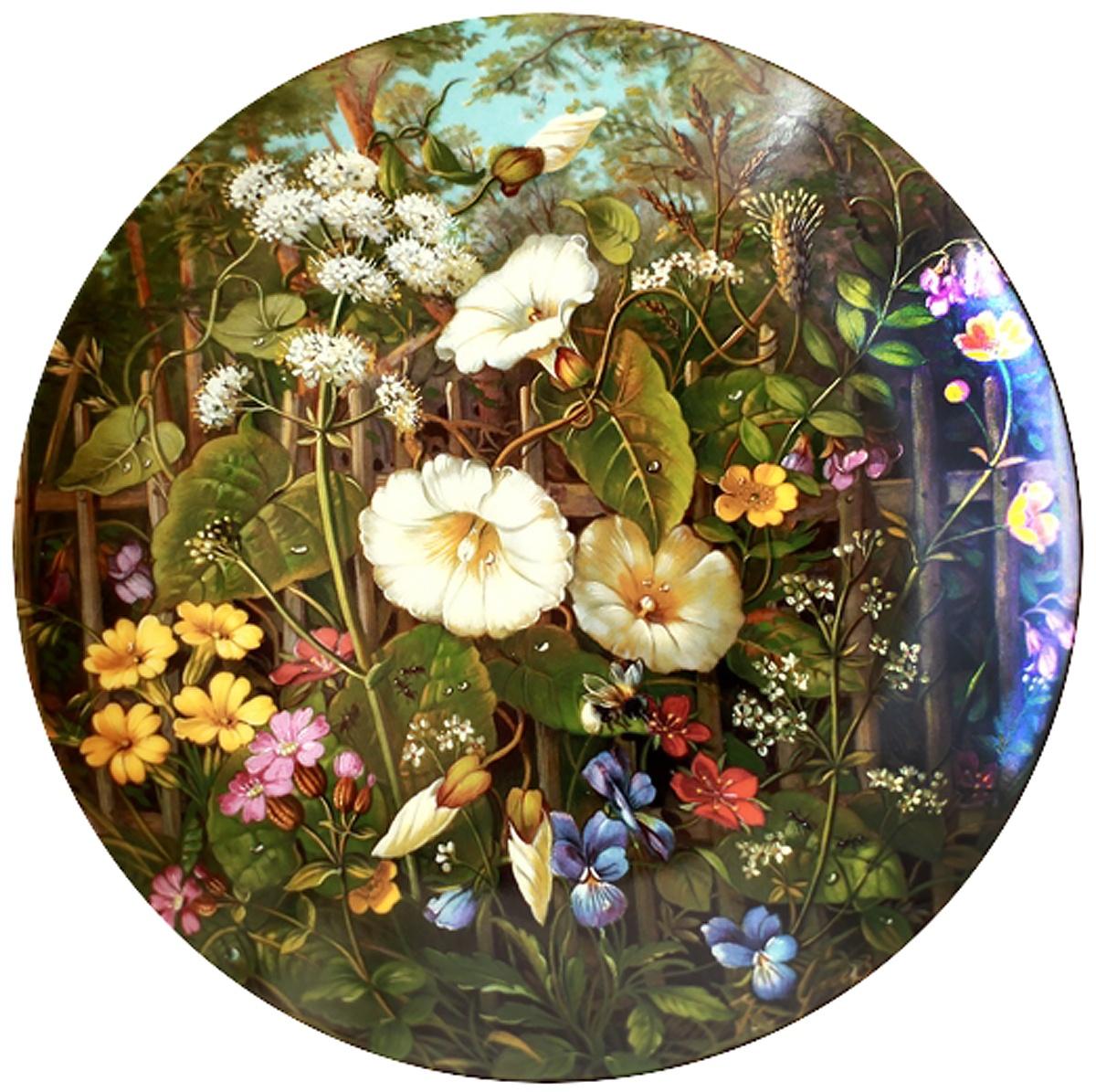 Декоративная тарелка Furstenberg Ганс Граб